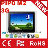 "9.7"" Pipo M2 3G  tablet PC Android 4.1 RK3066 dual core 1.6GHz 1GB/16GB Dual Camera Wifi Bluetooth HDMI OTG"