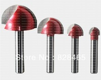 1/4''round nose bit ,wood end mill,solid carbide router bit
