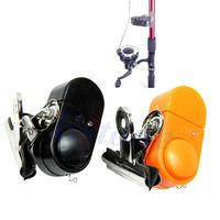 D19Electronic Night Fish Bite Sound Alarm LED Alert Bell Clip On Fishing Rod New