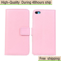 New Genuine Flip Leather Wallet Card Pouch Stand Case Cover For iPhone 5C Free Shipping UPS DHL EMS HKPAM CPAM BTR-1