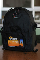 Lowepro Backpack SLR camera Bag Professional camera bags knapsack With rain cover
