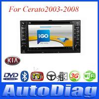 Android Car DVD For KIA Cerato GPS 2003-2008 with Digital TV/IPOD Car GPS For Cerato KIA DVD Radio