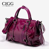 Cigg Famous Brand Bags Women 2014 Designer Handbag High Quality Wax Cowhide Genuine Leather Handbag Messenger Bags14