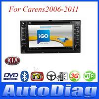 Android Car DVD For KIA Carens GPS 2006-2011 with Digital TV/IPOD Car GPS For Carens KIA DVD Radio