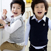 2013 autumn children's clothing brief armbandand child baby male child vest vest 5645