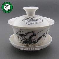 Shrimps Gaiwan Quick Gongfu Teapot Tea Maker Cup GW032