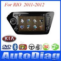 Android Car DVD For KIA RIO GPS 2011-2012 with Digital TV/IPOD/Bluetooth Car GPS For RIO KIA DVD Radio