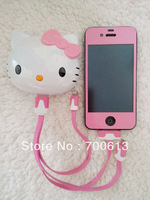 50pcs/lot! Free shipping 8000mAh Portable Hello kitty power bank