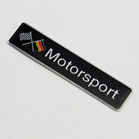 High-quality 3D German motor sport sticker  the whole body car  decoration accessories stickers For benz and  so on