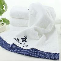 Free Shipping 6pcs/Lot Item A-1379 Hot sale soft and 100% cotton FACE Towel Bath Towel