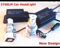 New generation of 2700LMS car headlight 60w 3600LM auto LED headlight H4 H7 H8 H10 H11 9005 9006 led headlight super bright