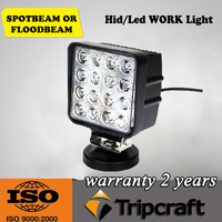 "Wholesale - 48W 4.5"" inch 12V 24V Car LED Work Working Light Lamp Bulb Offroad Spot Flood High Power Bright"