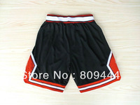 Free Shipping,Wholesale & Retail Chicago 2012 new material Rev 30 basketball shorts,embroidery logos,size S-XXL