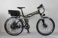 2013 Upgraded Off Road Electric Bike 48V 1000W Foldable Frame with 48V 20Ah Li-ion Battery Shimano Hydraulic Disc Brake
