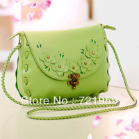 Small bags fashion small 2013 fresh woven bag vintage bag one shoulder cross-body bag small women's handbag