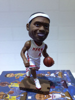 Free shipping Lebron James Miami heat 2013 6 basketball star simulation shook his head doll/dolls, doll