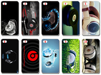 new The picture of headphone case cover for iphone5 5s 5G 5th free shipping 10pcs/lot