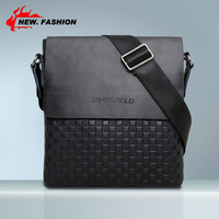 2014 New Arrived free shipping genuine leather men bag fashion men messenger bag bussiness bag A53