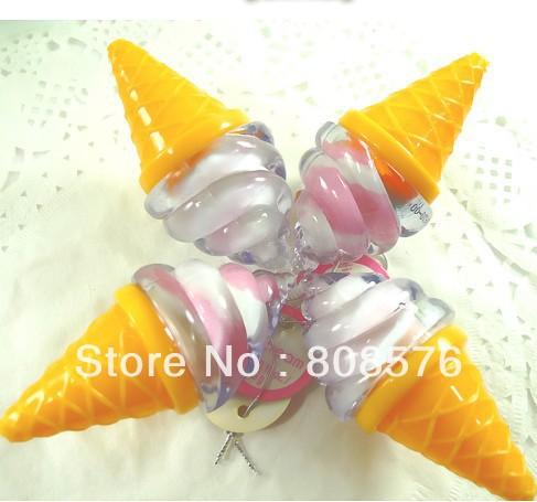 FREE SHIPPING cute cool sumer ice cream shape lip gloss cupcake lip gloss(China (Mainland))