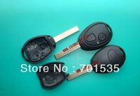 Free shipping for Rover 75 ZT Discovery TD5 2 Button Remote Key Fob Case Shell Blade