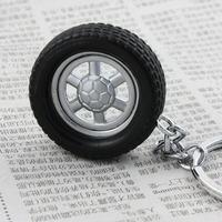 free shipping 10pcs key ring Gift tyre rim keychain key ring key ring key chain car keychain