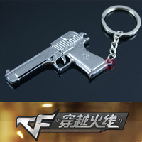 free shipping 20pcs Cf cf keychain model