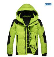 2014  New Wholesale 90% white duck  thickening  outwear  new arrival  male down coat men's down parkas  men warm jacket  winter