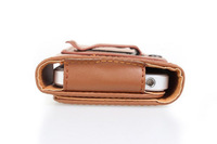 Special Brown Color PU Leather Pouch phone bags cases with Belt Clip for zopo c2  Cell Phone Accessories