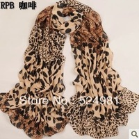 Fashion autumn and winter  women's chiffon  scarf