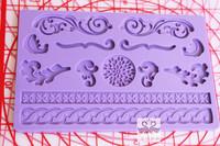 Sugar fpfb-517 silicone pad laciness sugar cake mould sugar cake