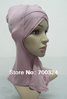 H679 double cross ninja underscarf,scarf inner hats,fast delivery,assorted colors