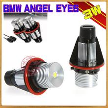 3W LED Marker Angel Eye for 39 E53 E60 E61 E63 E64 E65 E66 E87 White