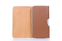 Special Brown Color PU Leather Pouch phone bags cases with Belt Clip for jiayu g2 g2s Cell Phone Accessories
