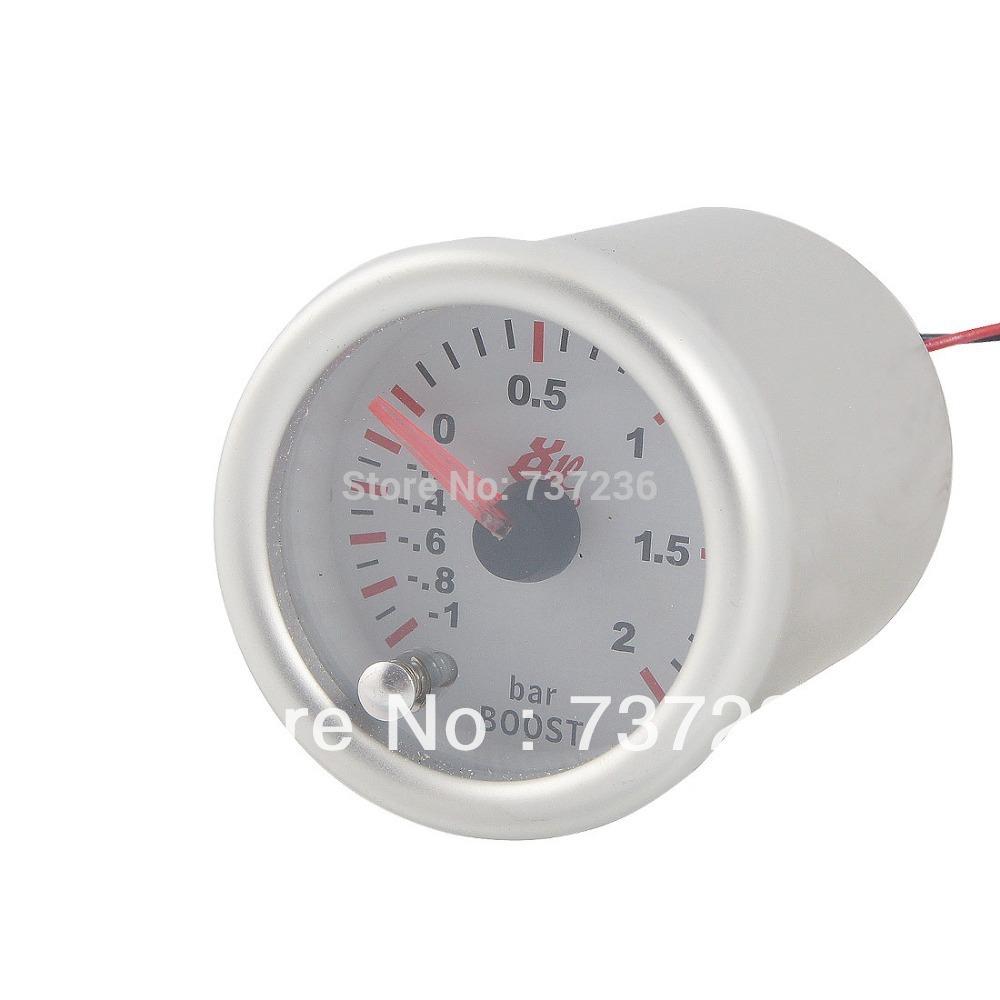 "Car Auto Refitting 2"" Diameter Turbo Boost Pointed Indicating Indicator Vacuum Gauge Free Shipping(China (Mainland))"