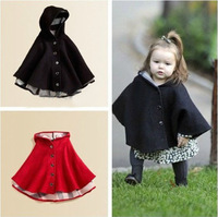 The new autumn winter 2013 Children's wear Baby girls cloak baby cape coat baby clothing