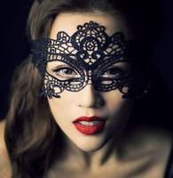 Black cutout mask lace veil sexy prom fashion cutout mask blindages