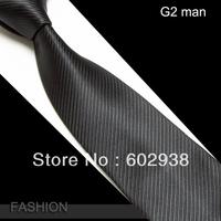 Men's Microfiber Neckties fashion tie neck ties striped high quality business adult neck tie 20 designs #8