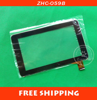 7 inch touch screen 100% New touch pad touch pabel digitizer for Tablet PC ZHC-059B Free shipping + tracking code