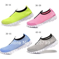 Free shipping 2013 fashion womens sport breathable shoes mens running shoes trainers athletic for men summer fitness shoes 36-44