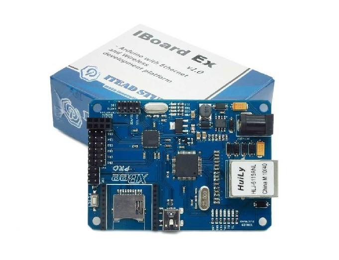 W5100 Ethernet Module for Arduino Development Board with POE / Xbee ...