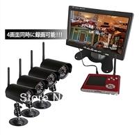 2013 Slap-up wireless CCTV Camera_wireless Hidden Camera_Night vision wireless Camera_PIR in sensor camera DVR