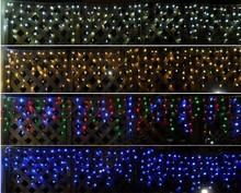 wholesale white led icicle lights