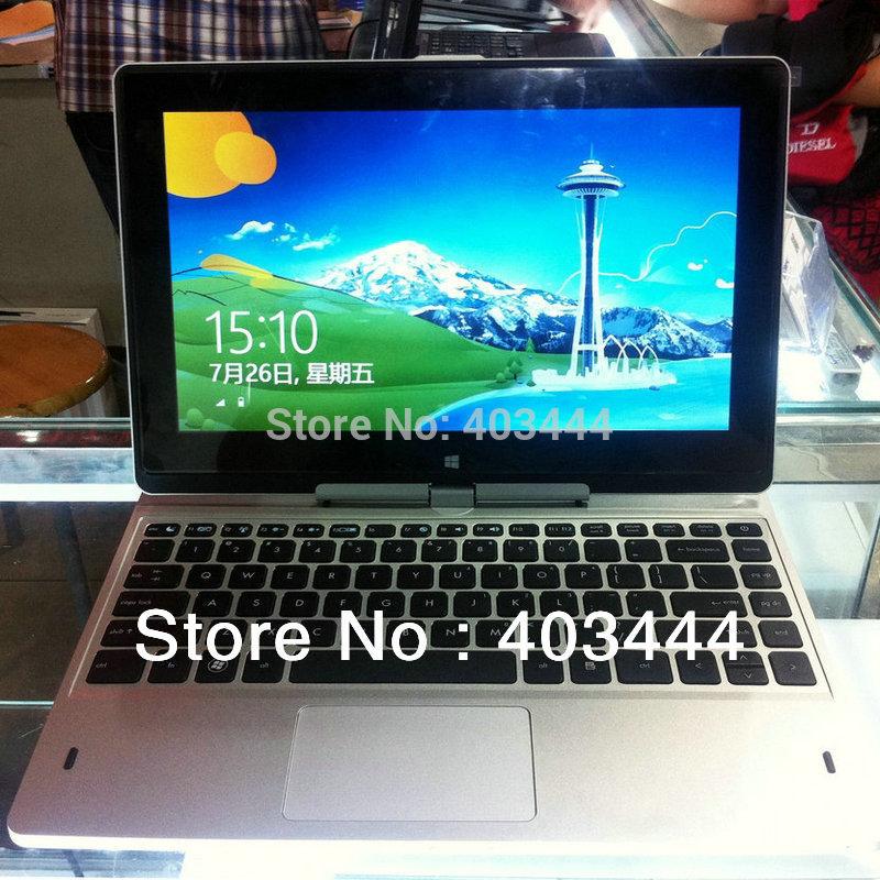 "11.6"" Laptop Touch Screen 360 Degree Rotating Netbook Intel Celeron 1037U Dual Core 2G 320G Windows 8 Notebook PC Free Shipping(China (Mainland))"