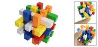 Colorful Plastic Building Blocks Brain Teaser  Toy
