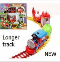 Thomas electric rail the children train plastic Thomas track Mini child trains set tracks kid toy for Kids_In Stock