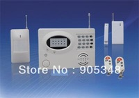 8 wireless zones+6 wired zones Alarm System for your Homes, Offices, Businesses ,cheap price,DHL/FEDEX/EMS Free shipping now!