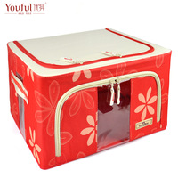 Storage box hoaxed oxford fabric storage box finishing box clothing quilt storage box 16