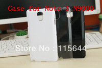 White Black Clear Galaxy Note 3 Case Ultra Thin Plastic Back Cover Case For Samsung Galaxy Note3 III N9000 Note3