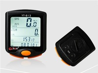 Free shipping MTB Cycling Bicycle LCD Waterproof Backlight Computer Odometer Stopwatch 24Function