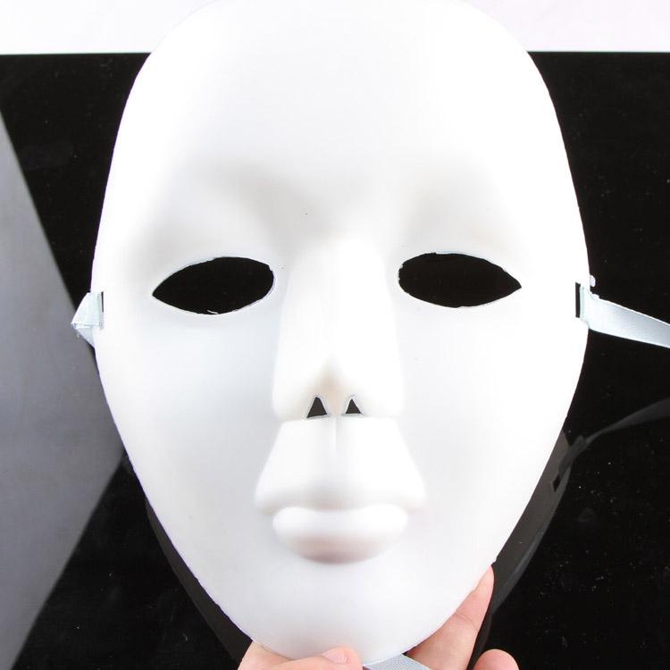 HIPHOP JABBAWOCKEEZ MASK WHITE MEN'S AND WOMEN'S MASK HG-002068(China (Mainland))